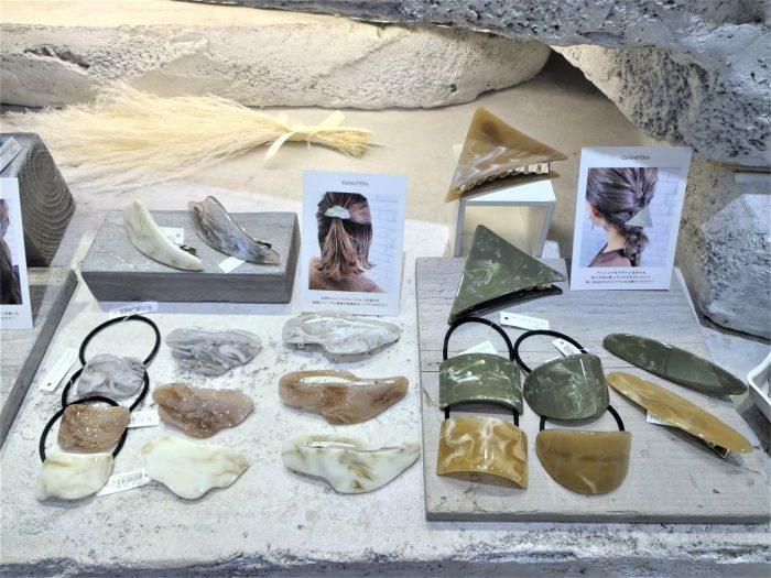 秋冬オリジナルヘアアクセサリー入荷しています