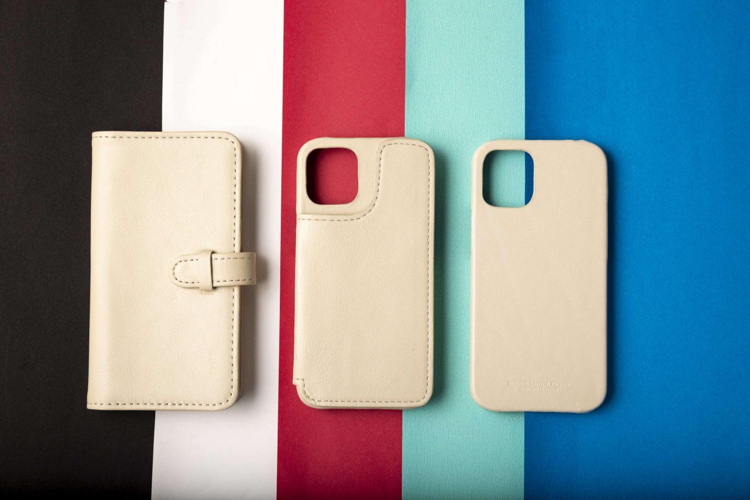 牛本革専門店「iphoneケース」¥2,499~
